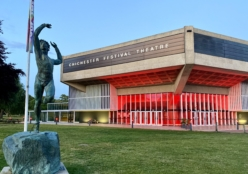 Chichester Festival Theatre lit red for #LightItInRed