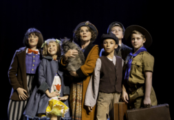 Imelda Staunton (Momma Rose) and company in Chichester Festival Theatre's production of Gypsy. Credit: Photo by Johan Persson.