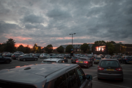 Chichester Drive-In Cinema from Chichester Festival Theatre & Chichester Cinema at New Park