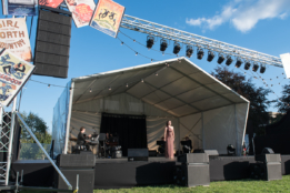 Gina Beck performs at Chichester Festival Theatre's Concert in the Park