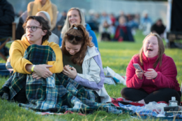 Audiences at Chichester Festival Theatre's Concert in the Park
