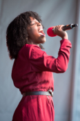 Gabrielle Brooks performs at Chichester Festival Theatre's Concert in the Park